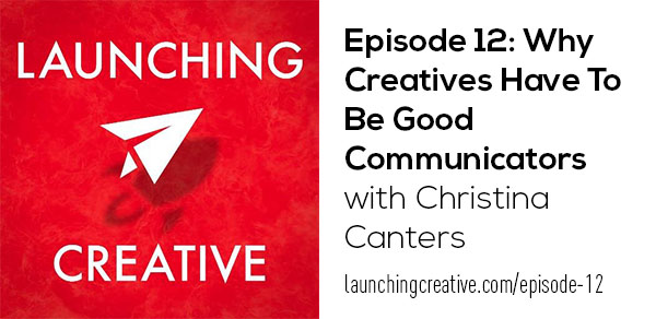 Christina Canters Launching Creative Design Draw Speak podcast Nik Parks