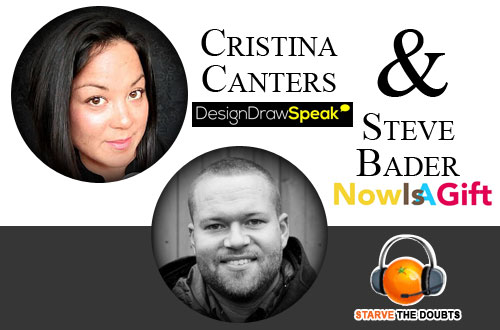 Christina Canters Design Draw Speak Starve the Doubts Jared Easley