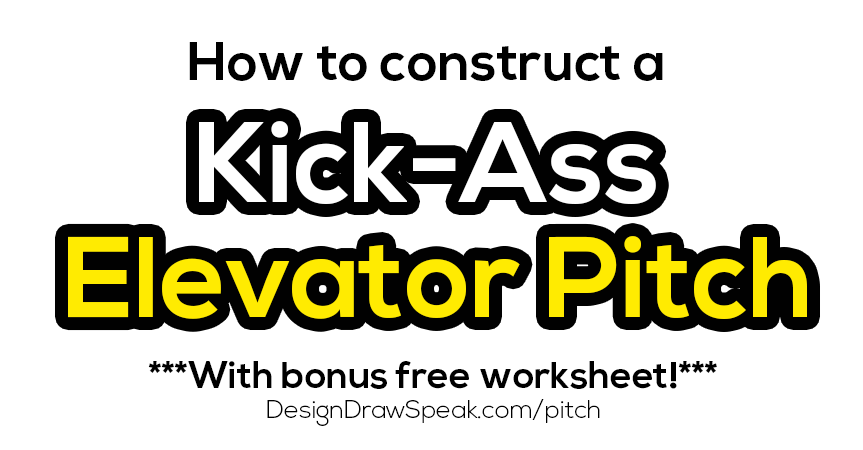 christina canters elevator pitch andrew lovick design draw speak